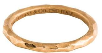 Tiffany & Co. 18K Textured Band