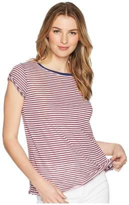 Free People Stripe Clare Tee Women's T Shirt