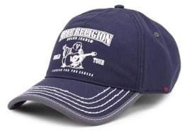 True Religion Puff Buddha Cotton Baseball Cap