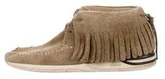 Visvim Suede Moccasin Sneakers