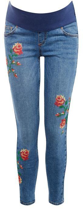 TopshopTopshop Maternity x stitch jamie jeans