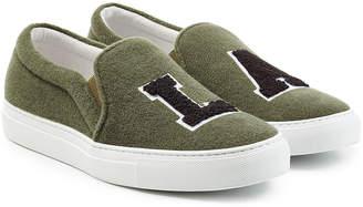 Joshua Sanders Felted Wool Slip-On Sneakers