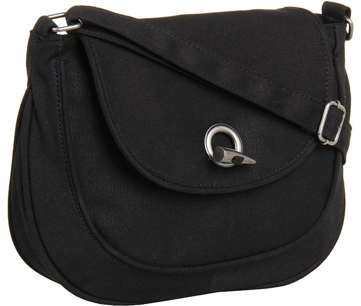 Volcom Lazy Weekend Shoulder Bag (Black) - Bags and Luggage