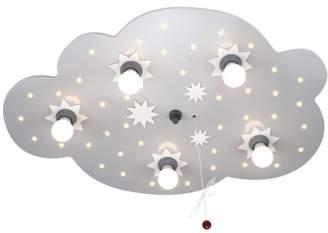 Elobra 124574 Ceiling Light, Star Cloud, EEK A, Silver