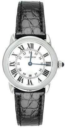 Cartier Women's W6700155 Ronde Solo Leather Watch