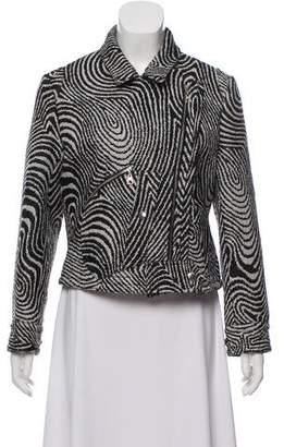 Louis Vuitton Swirl Pattern Moto Jacket