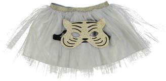 Obi Obi Tiger Mask and Mesh Tutu Dressing Up Set