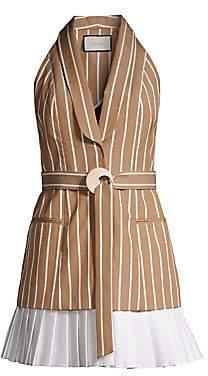 d6558ce4ce126 Alexis Women's Carmona Striped Sleeveless Blazer Dress
