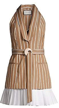 Alexis Women's Carmona Striped Sleeveless Blazer Dress