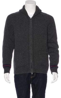 Fred Perry Lambswool Zip Sweater
