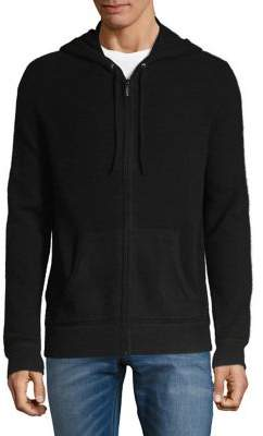 Black & Brown Black Brown Full-Zip Cashmere Jacket