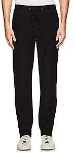 James Perse MEN'S TEXTURED STRETCH-COTTON PANTS-BLACK SIZE 2