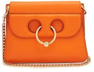J.W.Anderson Pierce Mini Leather Cross Body Bag - Womens - Orange