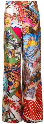 Moschino wide-leg palazzo trousers