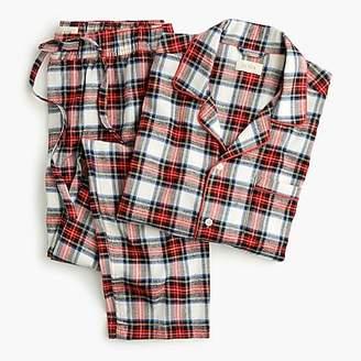J.Crew Flannel pajama set in Stewart tartan