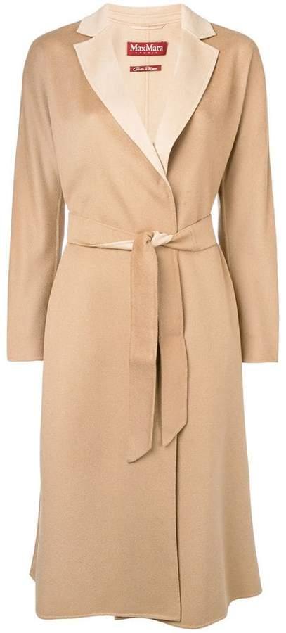 wrap-around coat