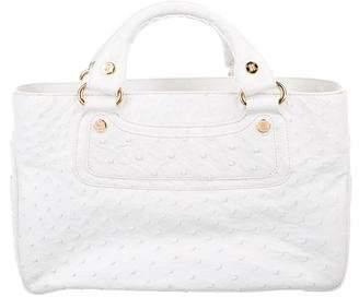 Celine Ostrich Boogie Bag