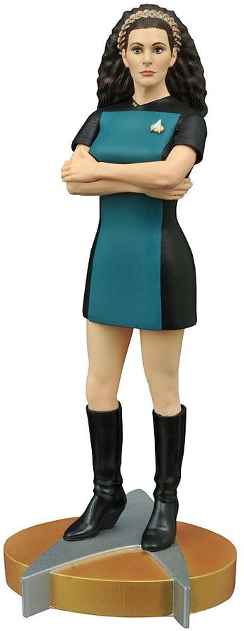 Diamond select toys Femme Fatales Star Trek The Next Generation Troi PVC Statue by Diamond Select Toys