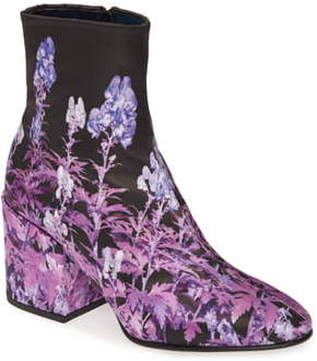Dries Van Noten Floral Bootie