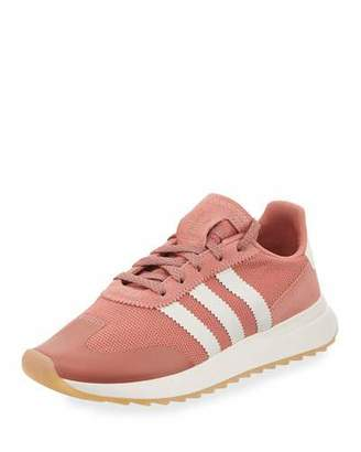 adidas Flashback Mesh/Leather Sneakers, Pink