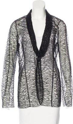 Armani Collezioni Embellished Evening Jacket $225 thestylecure.com