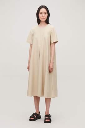 Cos VOLUMINOUS-SKIRT JERSEY DRESS