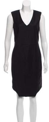 Helmut Lang A-Line Wool Dress