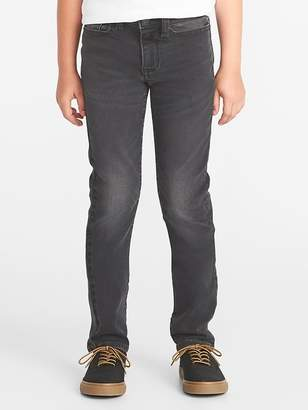 Old Navy Karate 24/7 Built-In Flex Max Gray Jeans for Boys