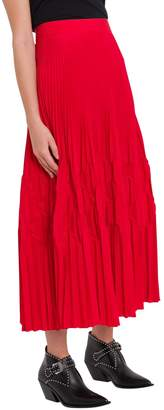 Givenchy Pleated Full Skirt
