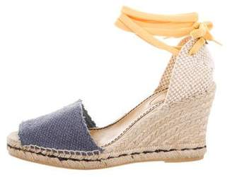 See by Chloe Canvas Wedge Sandals