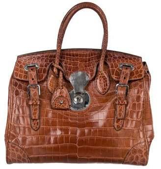 Ralph Lauren Ricky Alligator Bag
