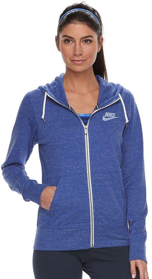 Women's Nike Gym Vintage Zip Up Hoodie