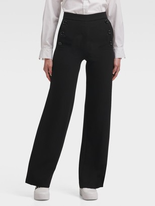 DKNY Wide-Leg Sailor Pant