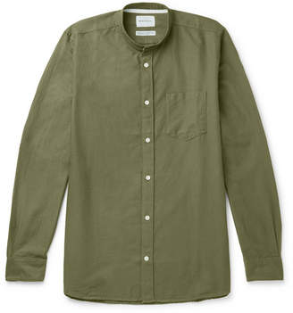 Norse Projects Hans Grandad-Collar Cotton-Ripstop Shirt