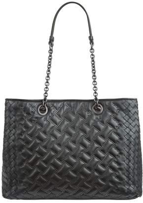 Bottega Veneta Medium Studded Intrecciato Tote Bag
