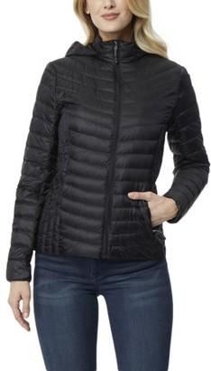 360air 360 Air Women's Silk Nano Packable Jacket with Detachable Hood