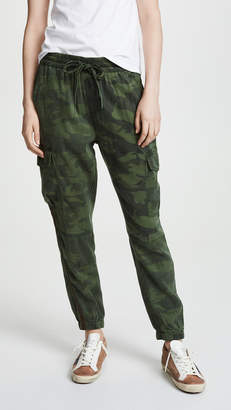 Pam & Gela Bronze Stripe Camo Sweatpants
