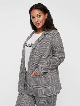 Junarose Fans Blazer Jacket in Paloma Size Large Polyester