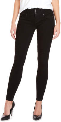 YMI Jeanswear Mid-Rise WannaBettaButt Skinny Jeans
