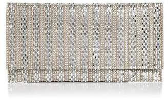 Aqua Megan Crystal Beaded Clutch - 100% Exclusive