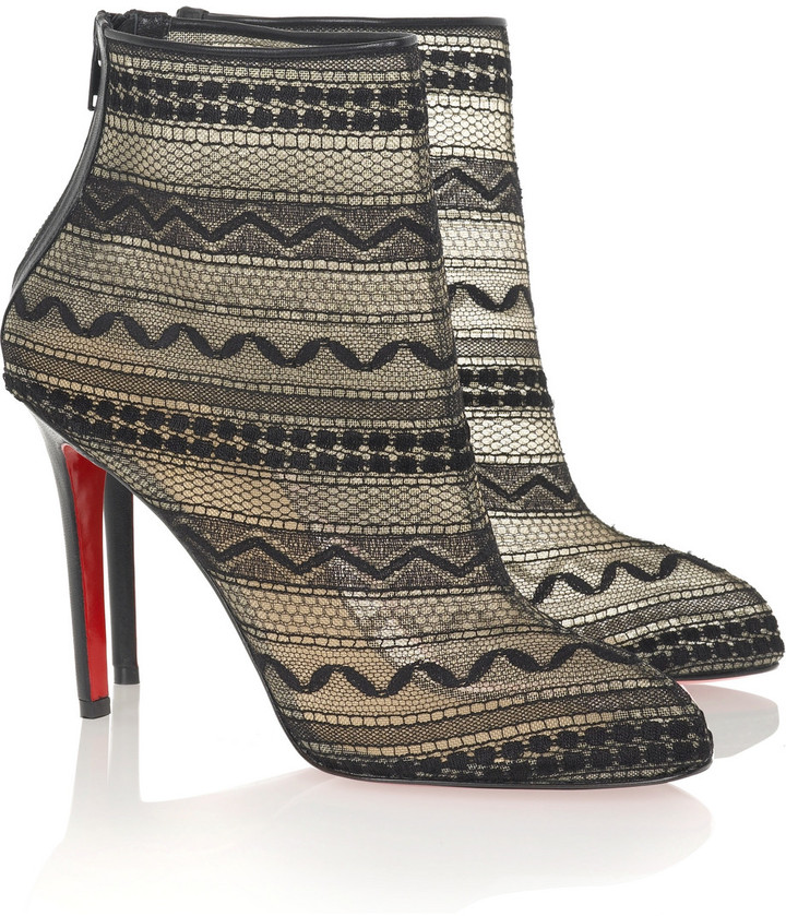 Christian Louboutin Paola 100 ankle boots