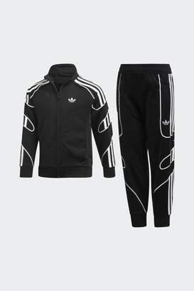 292d71878aa Next Boys adidas Originals Black Flamestrike Tracksuit
