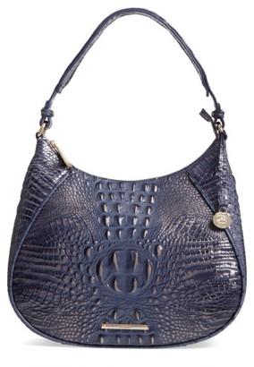 Brahmin Melbourne Amira Shoulder Bag - Blue $295 thestylecure.com
