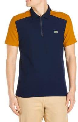 Lacoste Zip Collared Polo