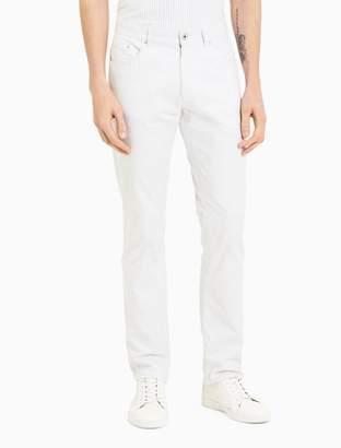 Calvin Klein x-fit ultra slim fit cotton linen stretch pants