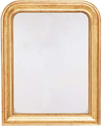 Rejuvenation Louis Philippe Arched Mirror w/ Greek Key Motif