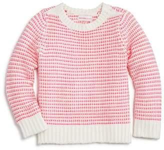 Design History Girls' Striped Chenile Sweater - Little Kid