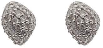 Monica Vinader Rose Gold Vermeil Nura Mini Teardrop Diamond Stud Earrings