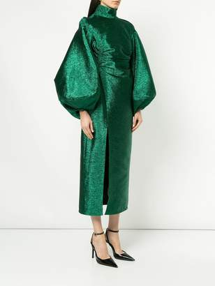 Camilla And Marc metallic lurex dress