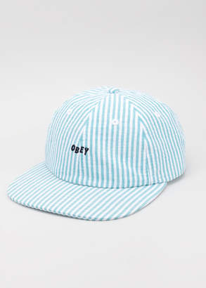 Obey Cypress 6 Panel Hat | Wildfang - Cypress Hat - BLUE - OS